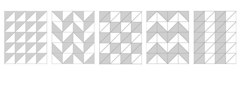 幾何学模様を色々作れます。