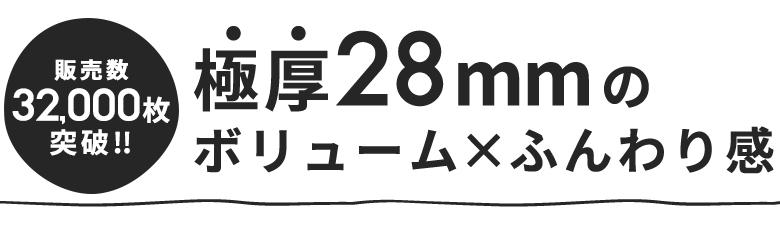 極厚28mm