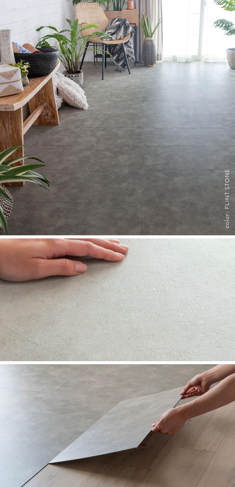 大理石やストーンを再現した床DIYアイテム