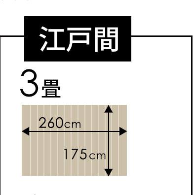 江戸間3畳