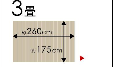 江戸間3畳用